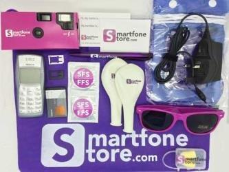 Retro phone goodie pack, Including Nokia 1100. Ideal for holidays/festivals etc - £19.99 @ Smartfonestore