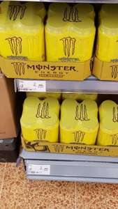 monster energy (the doctor) 4 pack £2 asda.