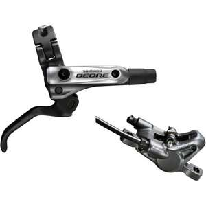 Shimano Deore m615 Hydraulic set - front + rear brake levers + calipers £62.50 @ Merlin Cycles