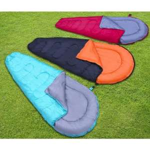 Adult Mummy Sleeping Bag. Choice of 3 colours. 220gsm. Includes compression bag was £19.99 now £8.99 @ B&M
