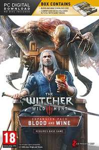 The Witcher 3: Wild Hunt Blood and Wine PC DLC - £14.99 @ GAME (PS4 £19.99)