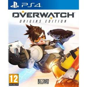 Overwatch on PS4 and Xbox One £38.85 thegamecollection
