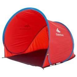 Quechua 2 SECONDS POP UP CAMPING SHELTER - blue or red £16.99 @ decathlon instore or pay extra for postage (great for the beach / fishing etc)