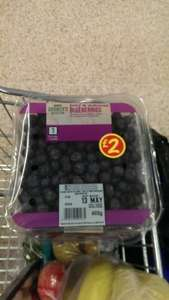 Blueberries now £2. for 400g at asda