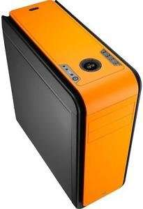 Aerocool DS 200 Orange Gaming Case Noise Dampening 2 x USB3 @ box ebay
