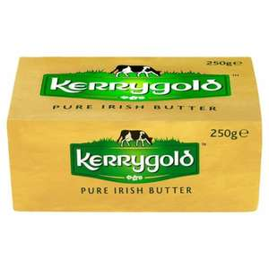Kerrygold Irish Butter, 250g (grass fed) £1 instore and online @ Tesco, was £1.60