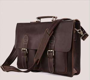 Genuine Leather Laptop/Business Case AliExpress £11.80 delivered using App