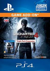 Uncharted 4: A Thief's End Triple Pack DLC Season Pass £14.85 w/code @ ShopTo