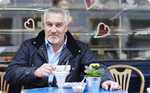 Free inside the Telegraph this weekend 20 recipes by Paul Hollywood (paper cost £2)