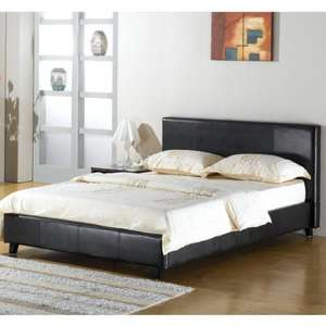 Maltese Bed Frame (5') - Black £25.99 / Brown £28.33 - free delivery @ Wayfair