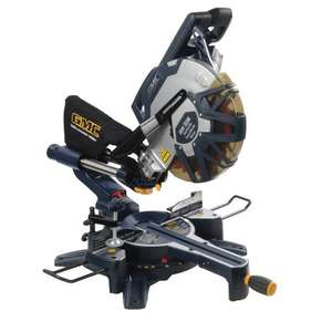 GMC DB305SMS Double Bevel Slide Compound Mitre Saw, 1800 W, 305 mm £159.91 @ Amazon