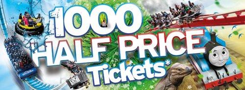1000 tickets Half Price - Drayton Manor - £19.50