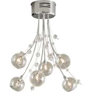 Heart of House Sophie 6 Light Ceiling Fitting – Chrome was £49.99 now £24.99 @ Argos