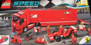 LEGO Speed Champions 4 T & Scuderia Ferrari Truck 75913 £30 instore only at Smyths