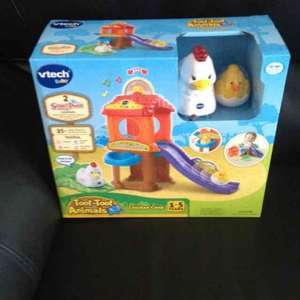 Vtech toot-toot animals chicken coop from £20 to £6.50 in Tesco!