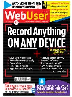 Web User 3 issues £1.00 FREE GIFT - MUG, 15 PIECE SCREWDRIVER SET