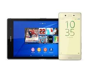 Pre-order Sony Xperia X £32 p/m - (£751) and Sony will give you a new Xperia Z3 Tablet Compact (Wi-Fi) worth £249! Carphone Warehouse