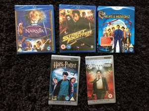 **Round 2** More New Blu Ray Titles - inc. Narnia , Night at the Museum 2 & loads of UMD's £1 @ Poundland
