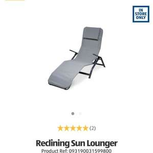sun lounger Aldi in store £25