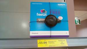 Humax HB-1000S Smart Freesat HD Digital TV Receiver £53 @ Tesco