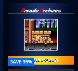 UK PSN Store PS4 Arcade Archives Sale Inc Double Dragon / Magmax / Terra Cresta £3.69