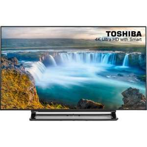 Toshiba 40U7653DB 40 Inch Smart 4K Ultra HD 3D TV £349.99 delivered @ COSTCO