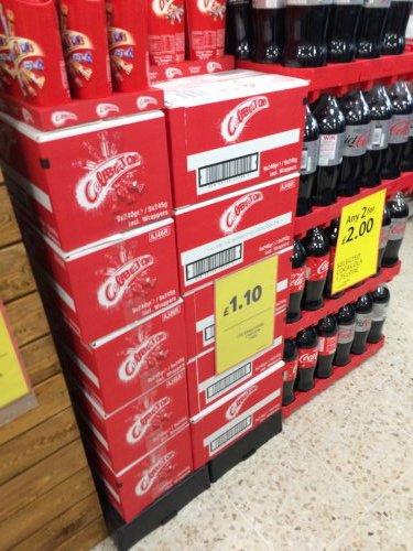 Celebrations carton £1.10 Tesco armley