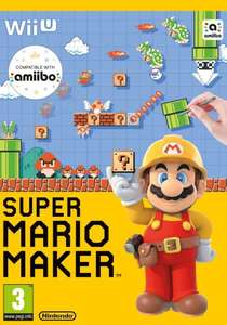 Super Mario Maker [Includes Artbook] Wii U £27.85 Delivered @ Shopto
