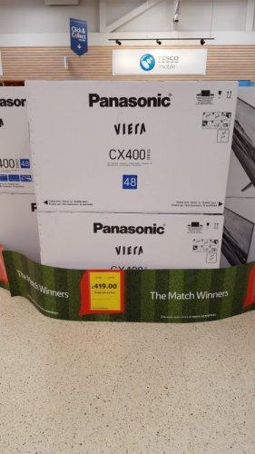 "panasonic 48"" 4k ultra hd television £419 @ Tesco - Silverburn"