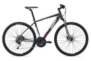 2015 Giant Roam 1 Hybrid Bike Carbon/Red (Small) 35% off £419.99 @ Rutland Cycles