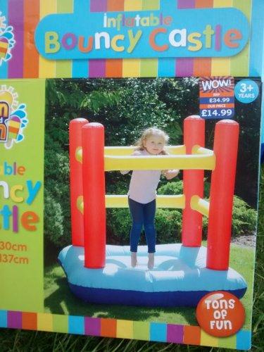 Inflatable Bouncy Castle £14.99 B&M Cheadle
