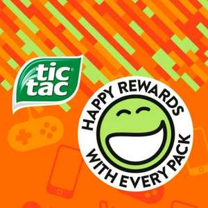 Tic Tac Happy Rewards II - free items for redeeming codes (£2.50 p+p)