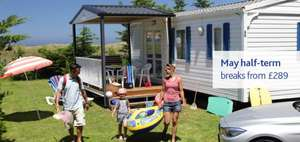 4 night, family, May school holiday break in French Mobile Home £289 Brittany Ferries