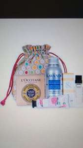 Free £21.50 gift set, Free Delivery, Free Gift wrap and Free samples with £35 spend @ L'occitane