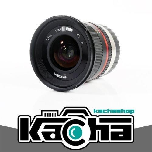 Samyang 12mm f/2.0 Fuji X mount £199 @ Kacha / ebay