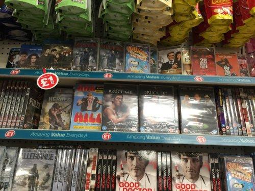 UMD Movies @ Poundland £1 incl.. Futurama, James Bond, Rocky etc...