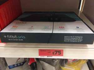 Fitbit Aria Bathroom scales  instore at Sainsbury's for £75
