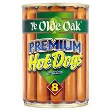 Ye Old Oak Premium Hot Dogs 400G Better than half price Tesco Online and instore- down to 50P