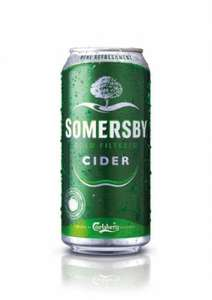 15 cans of Somersby Cider for £5 at Spar stores
