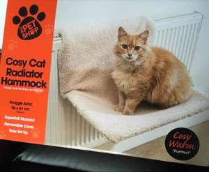 Cat Radiator Bed/Hammock £1 @ B&M