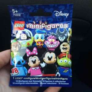 Lego Disney minifigures £1.78 each if you buy 7 at WHsmiths