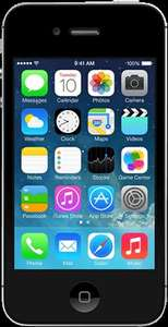 Apple iPhone 4S 8GB £69.99 - As good as new - with a 12 month warranty O2.co.uk