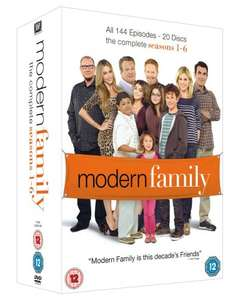 Modern Family Seaons 1-6 DVD Boxset £22.99 with free delivery @ Amazon