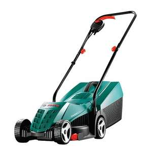 Bosch 600885B70 Rotak 32R Electric Rotary Lawnmower with 32 cm Cutting Width + 2 years John Lewis guarantee £64.95