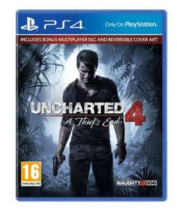 uncharted 4 £42 (£21 with clubcard boost) @ Tesco Direct