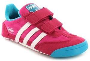 Girls kids (infant) Adidas learn to walk dragon trainers. Online/possibly in store www.wynsors.com