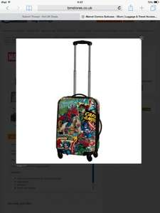 Marvel comics suitcase from £34.99 b and m
