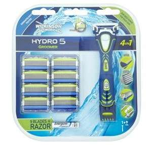 WILKINSON SWORD HYDRO 5 GROOMER RAZOR AND 9 BLADES £14.99 Inc P&P at Wilkinson Sword