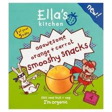 Ella's kitchen snack pouches 69p @ Home Bargains - Milton Keynes