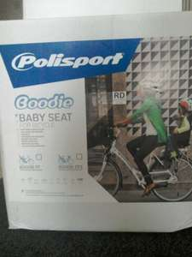 Polisport Boodie Kids bike seat £20 - Sainsburys